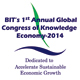 BIT's 1<sup>st</sup> Annual Global Congress of Knowledge Economy-2014